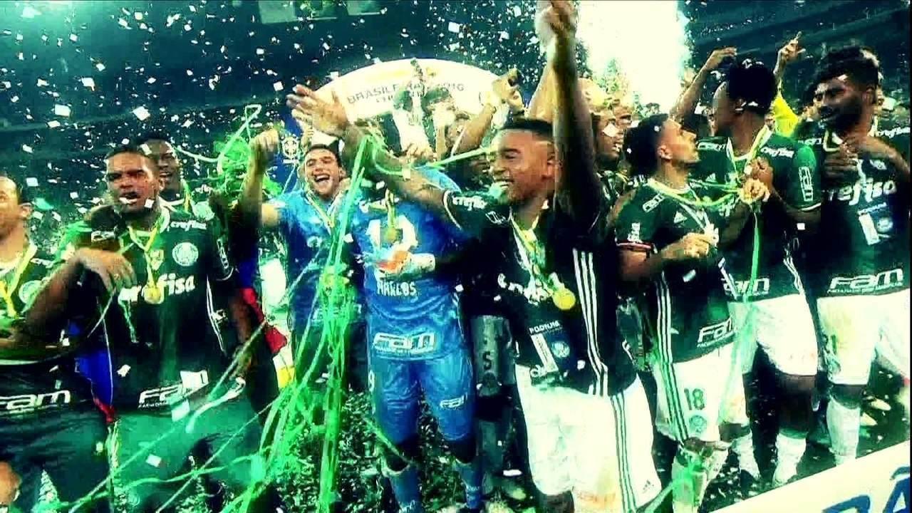 Palmeiras vence a Chapecoense e conquista o Campeonato Brasileiro em 2016
