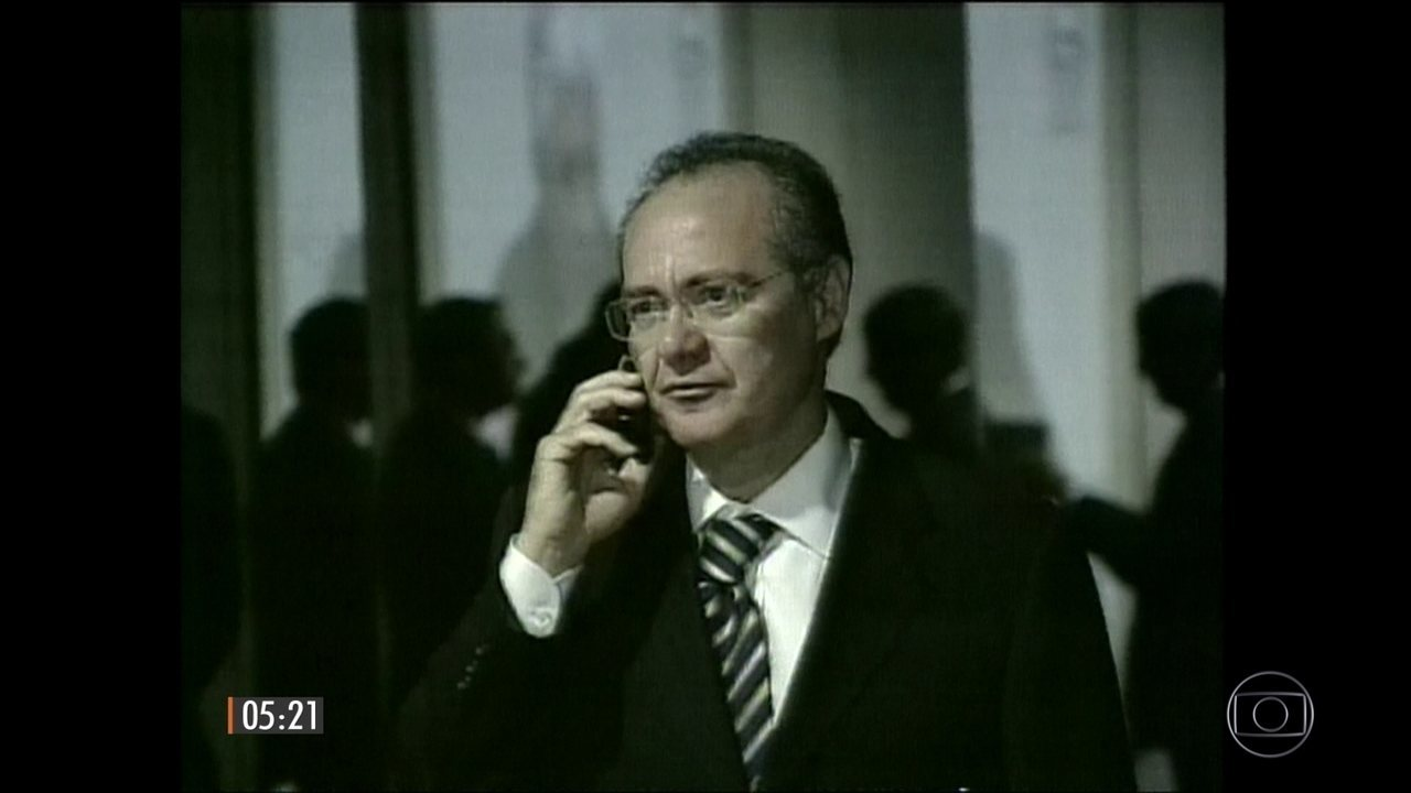 Presidente do Senado Renan Calheiros se torna réu