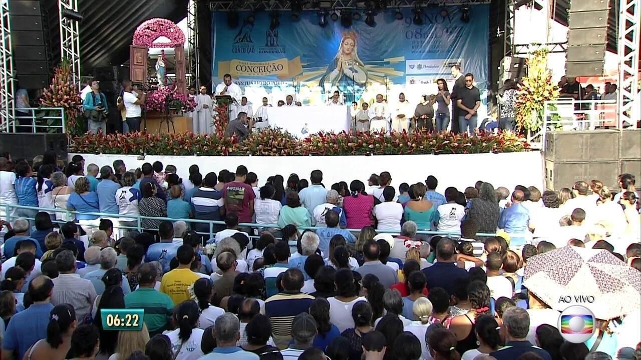 Festa Do Morro Da Conceição Recebe Milhares De Fiéis Nesta