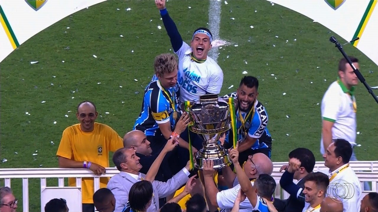 Gremio is the champion of the Brazilian Cup