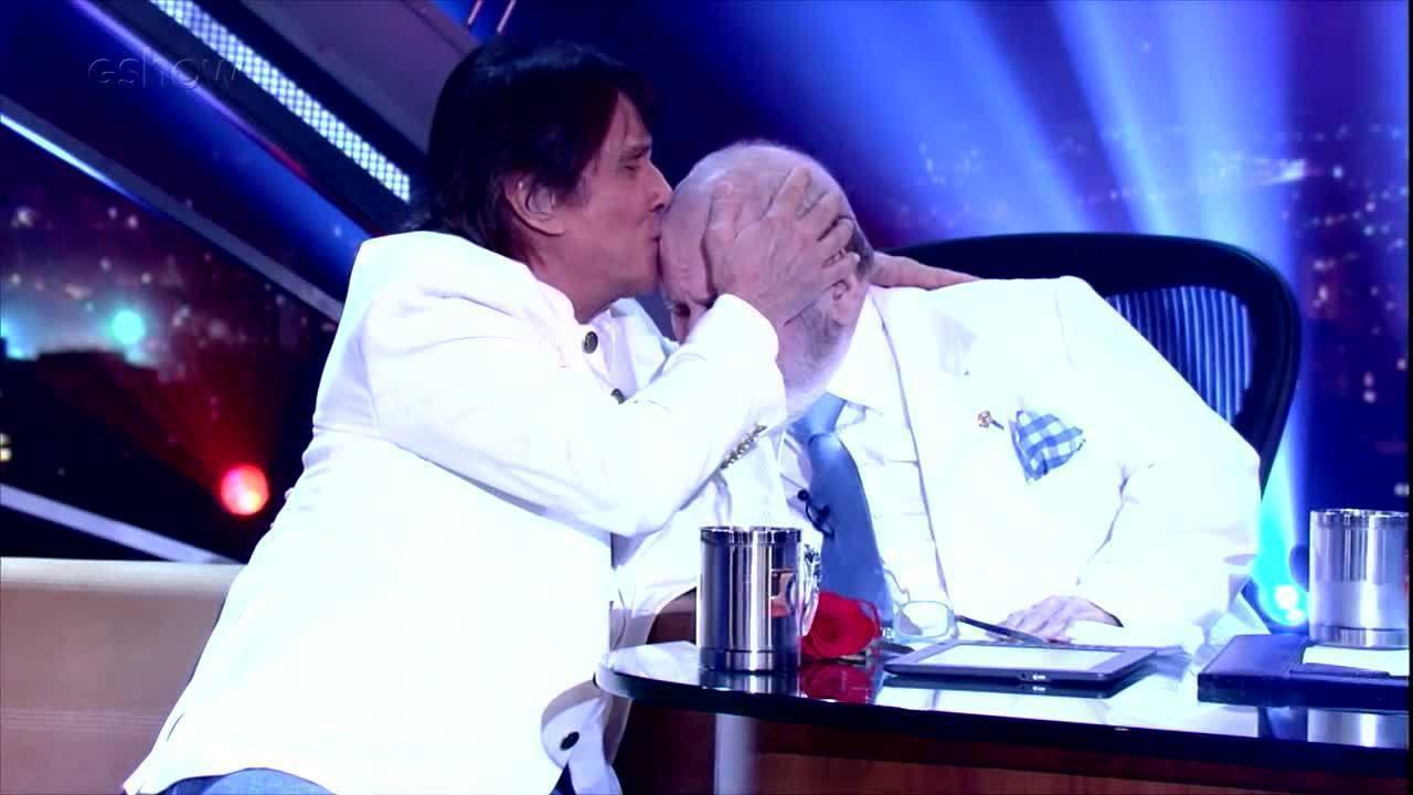 Roberto Carlos fala sobre sua amizade com Jô Soares