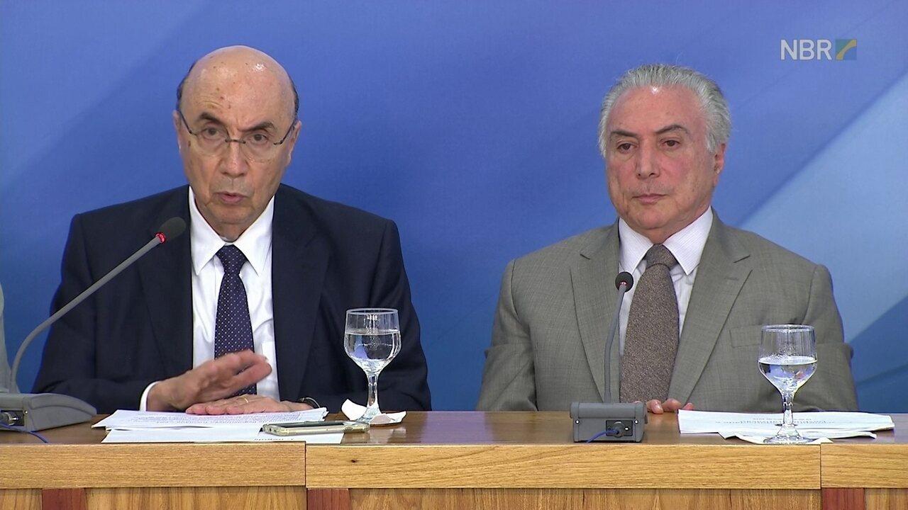 Meirelles fala sobre a regularização das dívidas tributárias