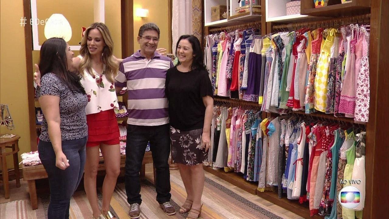 Nilvanda se inspirou no 'É de Casa' e fez roupas para crianças na África