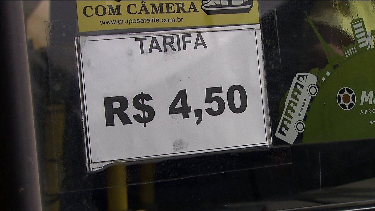 Passagem de ônibus sobe 20% em Guarulhos