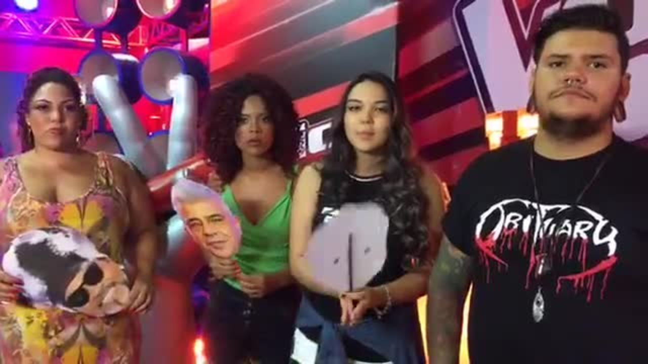 Live - Participantes The Voice Brasil