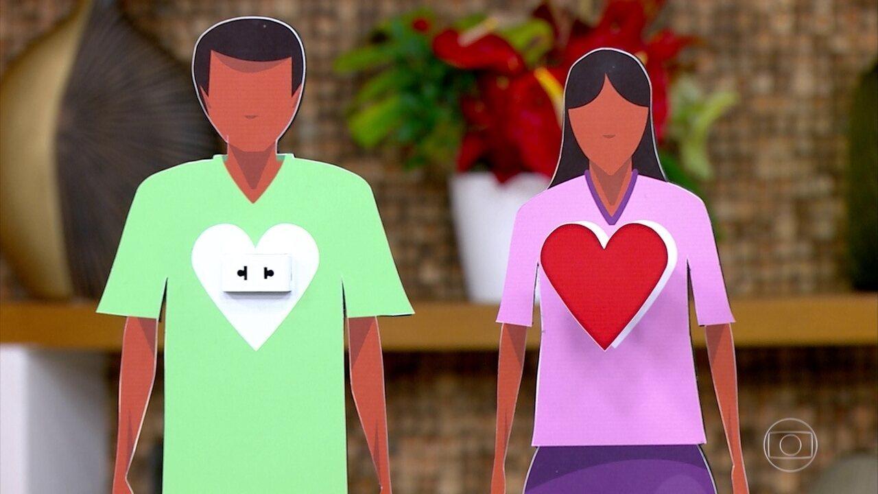Pacientes que receberam transplante de coração fazem acompanhamento e seguem a vida normalmente