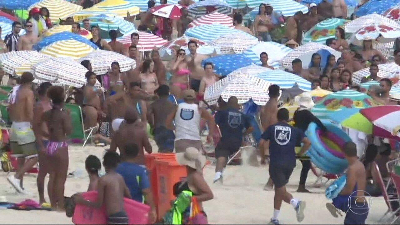 Bandidos atacam banhistas no Arpoador, apesar da segurança reforçada