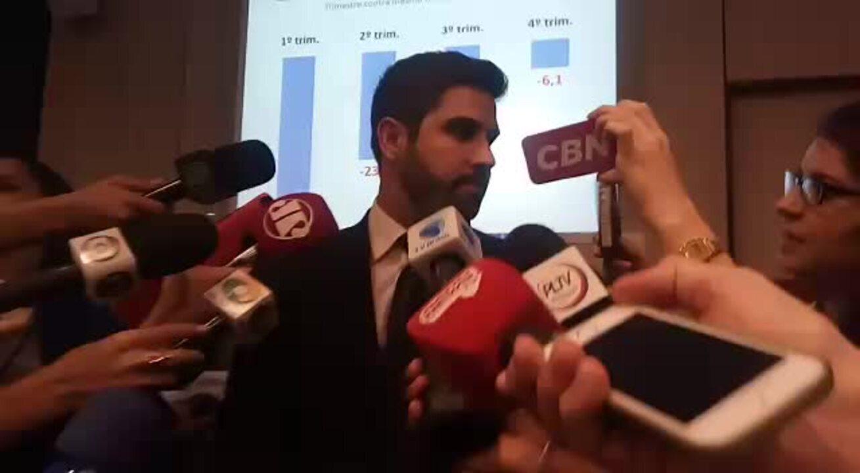 Secretário de Comércio Exterior do ministério, Abrão Neto, sobre resultado da balança comercial em 2016