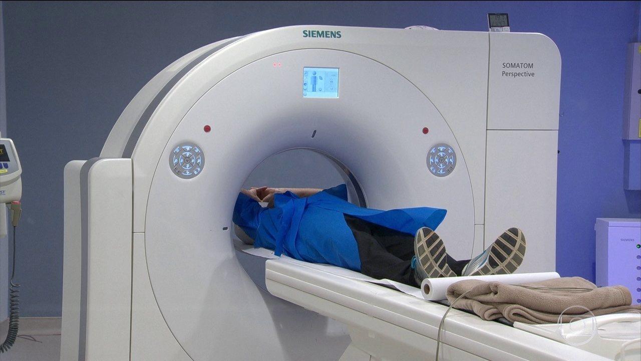 Exame que evita um infarto, investiga o interior das artérias e depósito de cálcio
