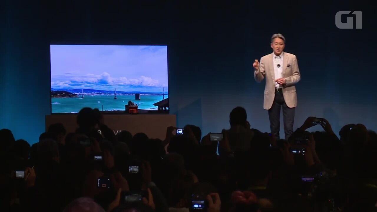 Sony lança TV que emite som diretamente da tela