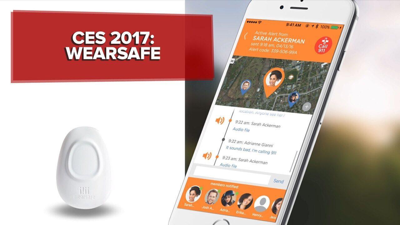 CES 2017: Wearsafe é tecnologia vestível que contata amigos em caso de perigo