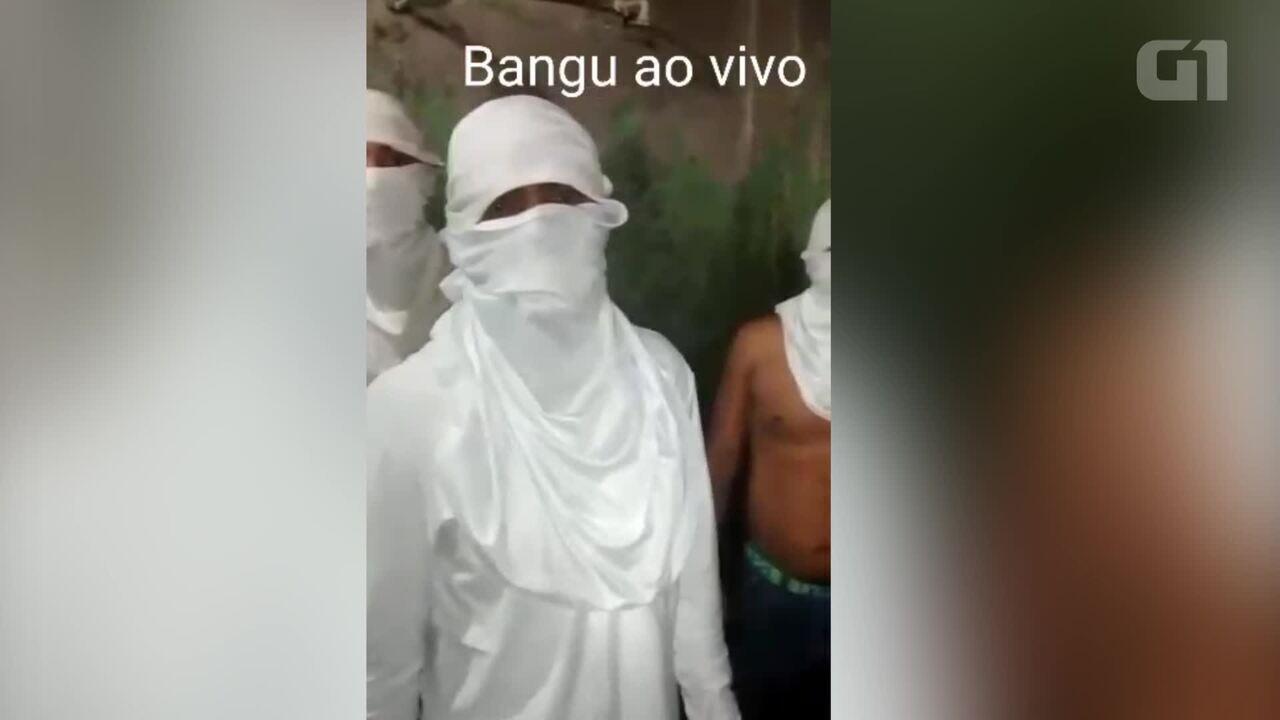 Presos reclamam de condições insalubres e falta d'água em Bangu, Rio