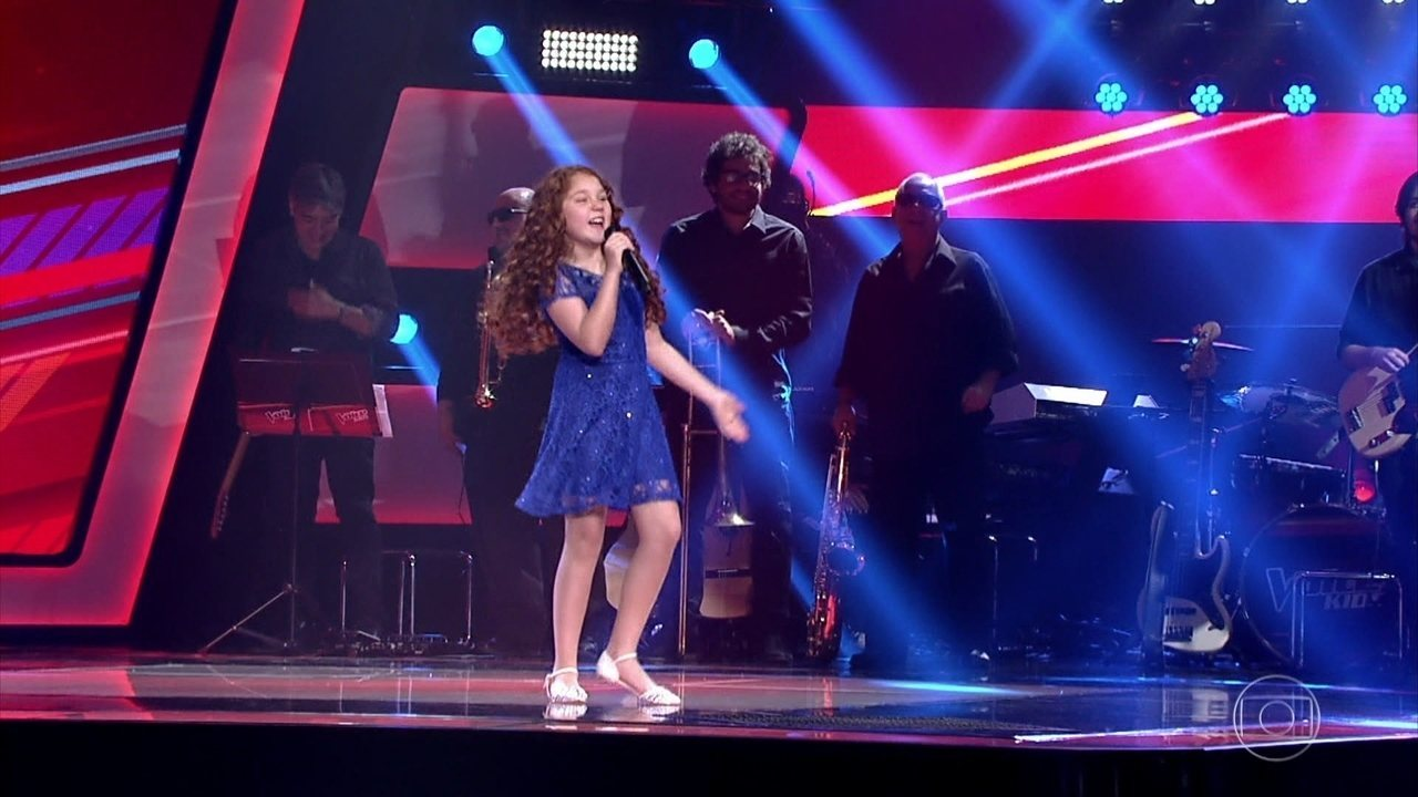 'Splish Splash' foi a música escolhida por Flávia Scanuffo