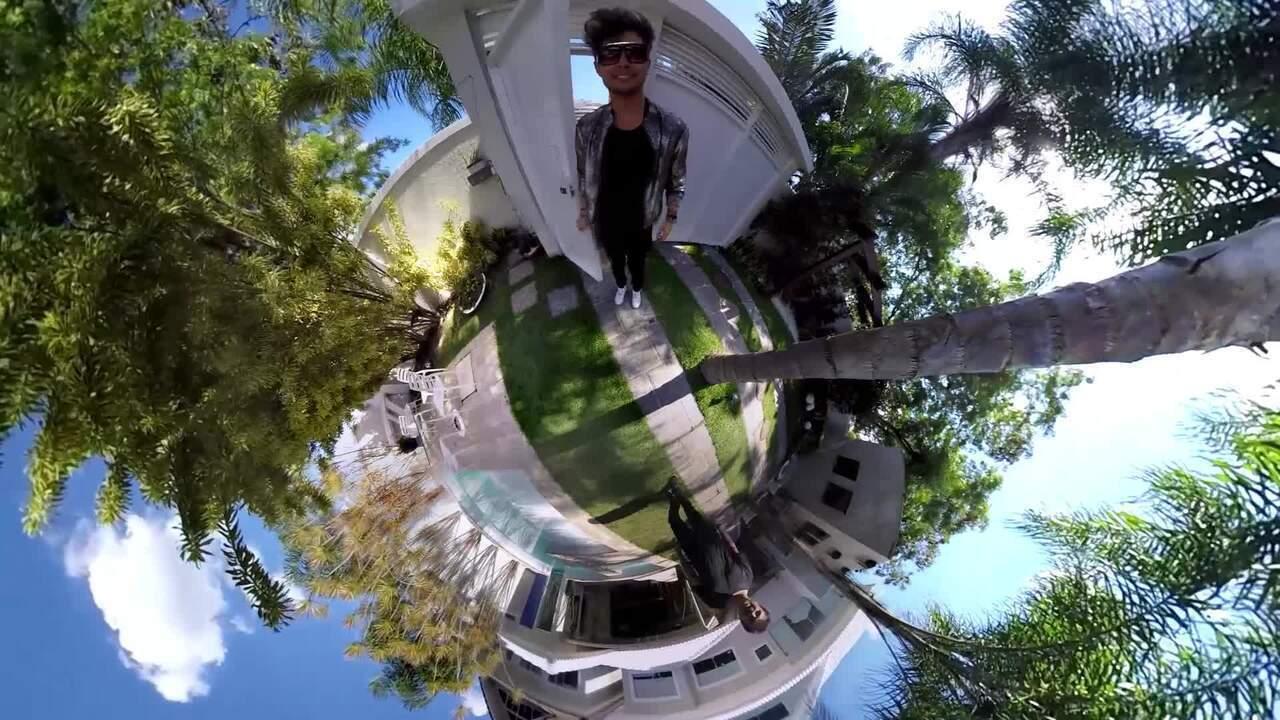 Gravação do novo hit de Léo Régis em vídeo 360°
