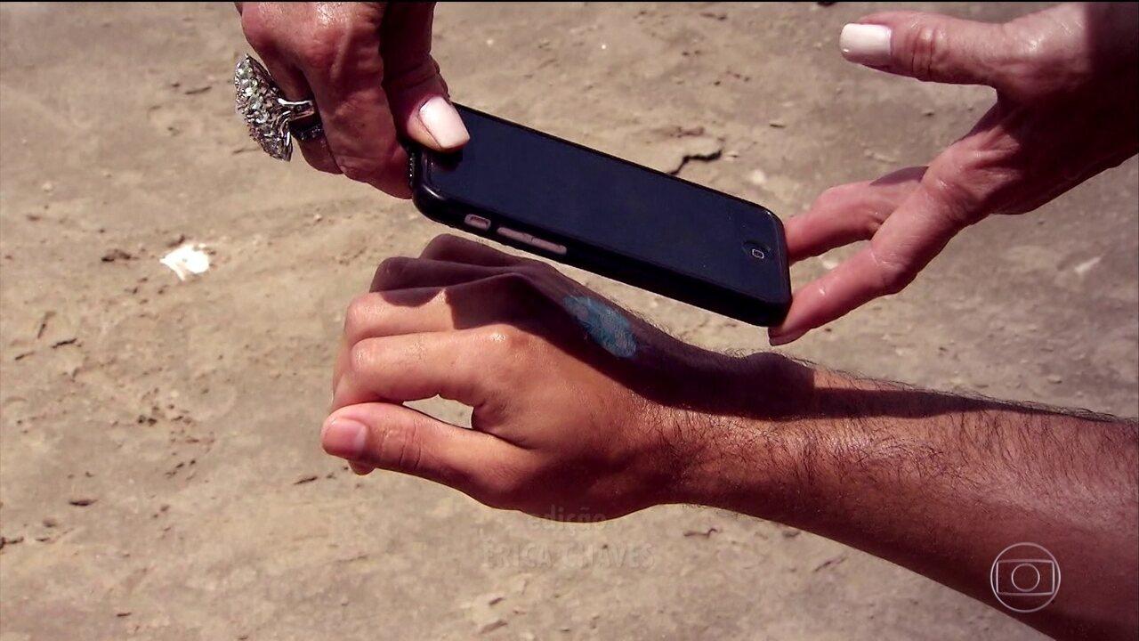 Tecnologias ajudam as pessoas a lembrar de se proteger do sol