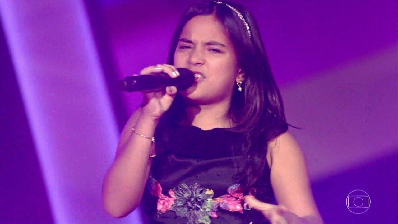 Maria Alice canta em espanhol