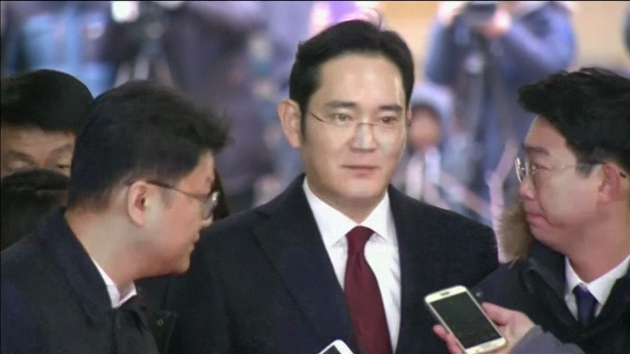 Promotor especial da Coreia do Sul pede a prisão de herdeiro da Samsung