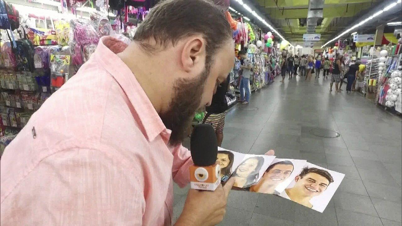 Gêmeos do BBB17: Paulinho Serra confere reação do público