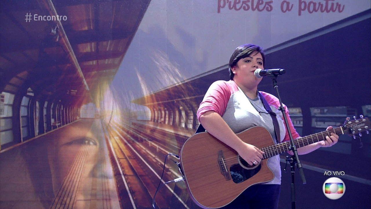Ana Vilela canta 'Trem Bala', fenômeno com mais de 14 milhões de visualizações
