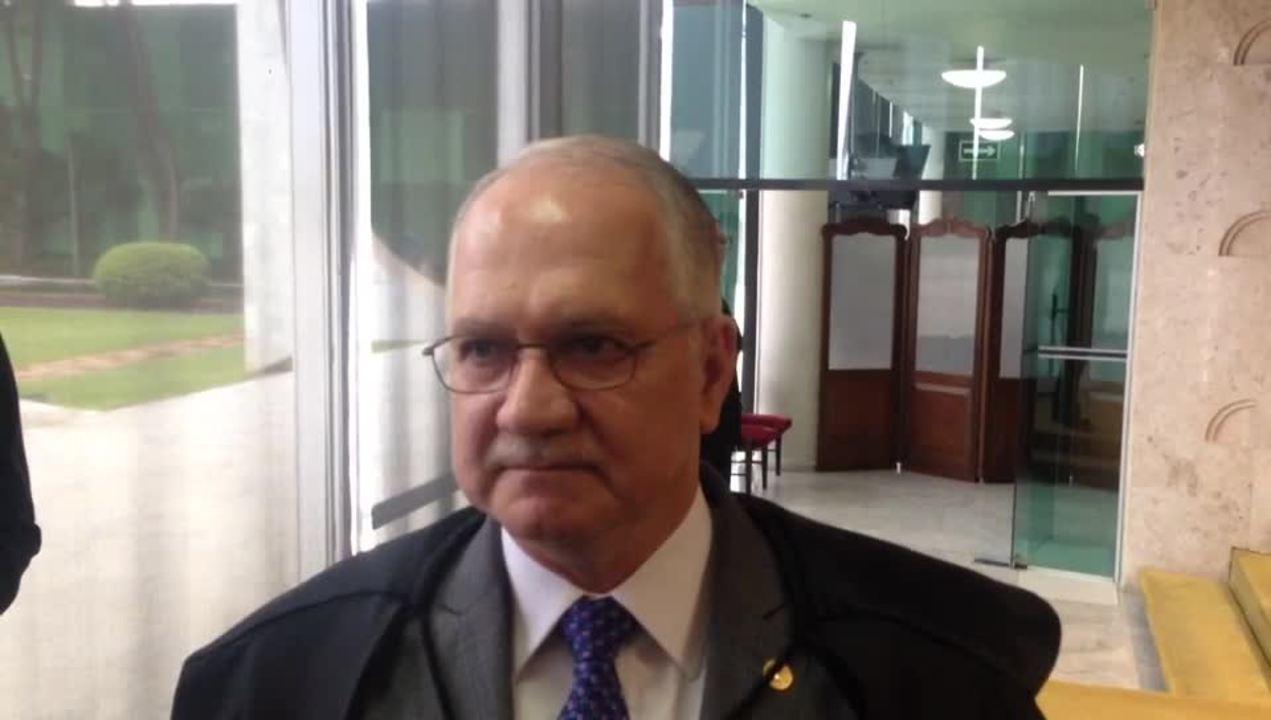 Ministro Edson Fachin, novo relator da Operação Lava Jato, concede entrevista no Supremo
