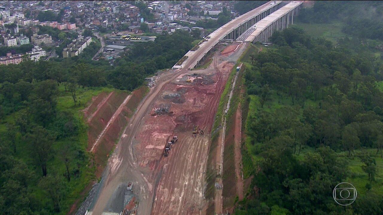 Obras do trecho Norte do Rodoanel enfrenta atrasos e problemas com a Justiça