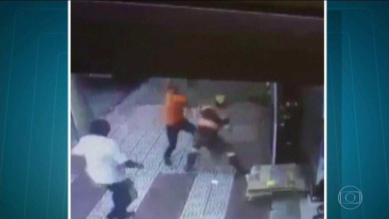 Funcionário da CET é agredido por motorista após aplicar multa em SP