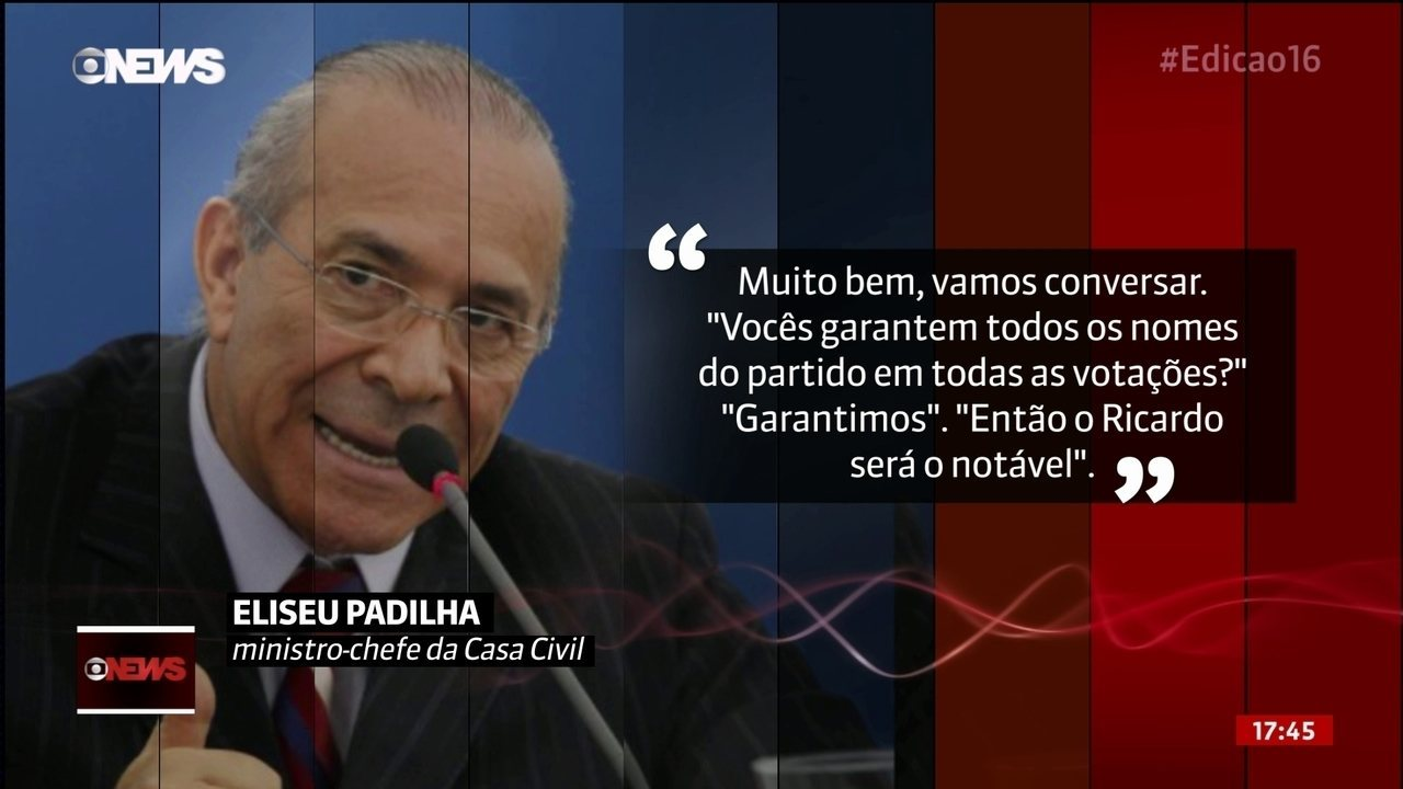 Eliseu Padilha admite que governo troca indicações para cargos por apoio no Congresso