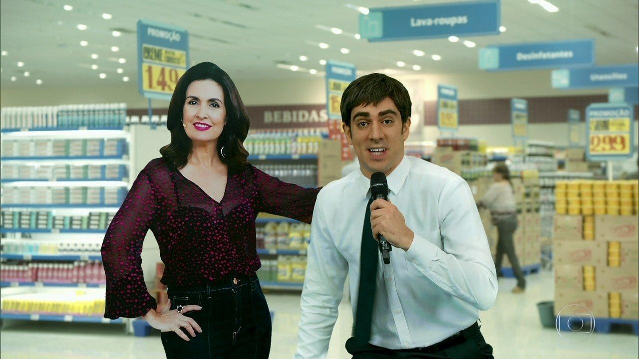 #TBT do 'Tá no Ar': relembre a cena 'Haja promoção'
