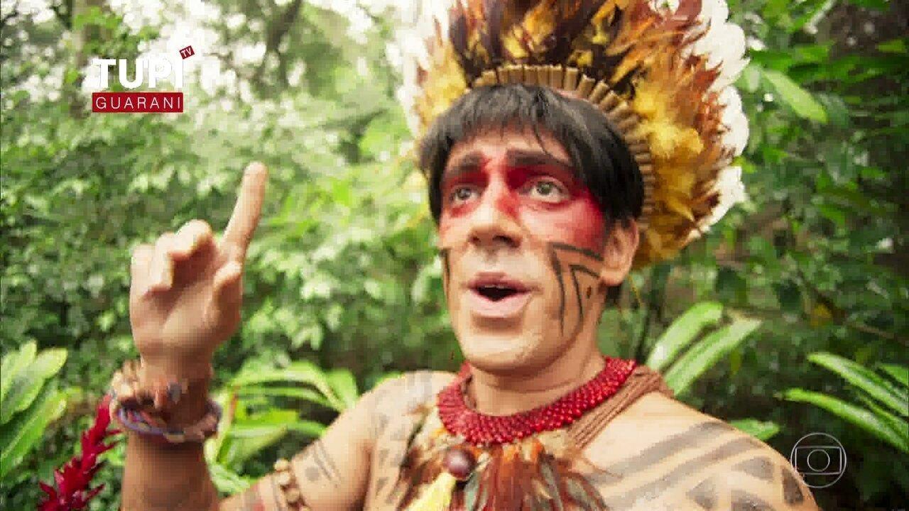 Índio Obirajara canta versão de música do Justin Bieber