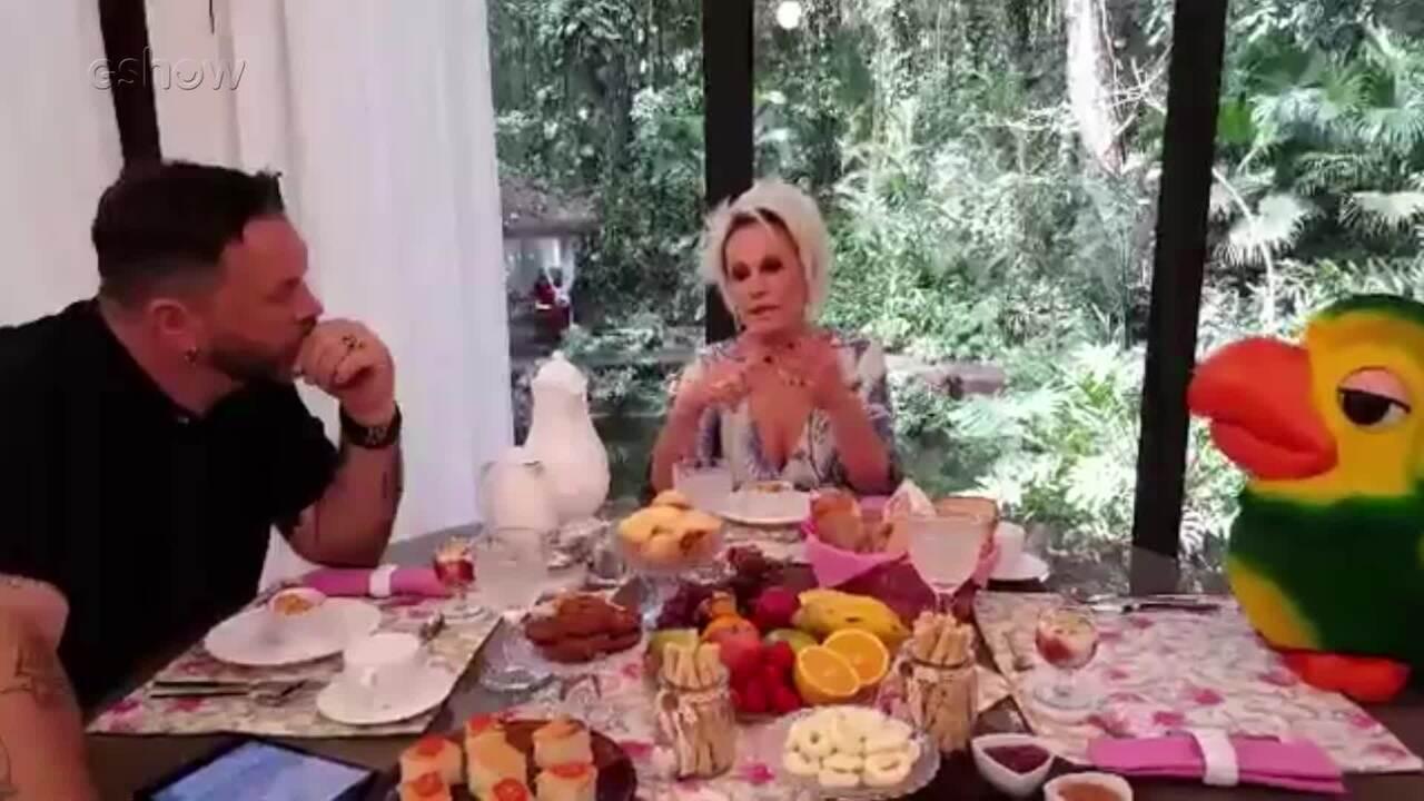 Jimmy conversa com Ana Maria Braga e Louro José sobre o 'Fecha a Conta'