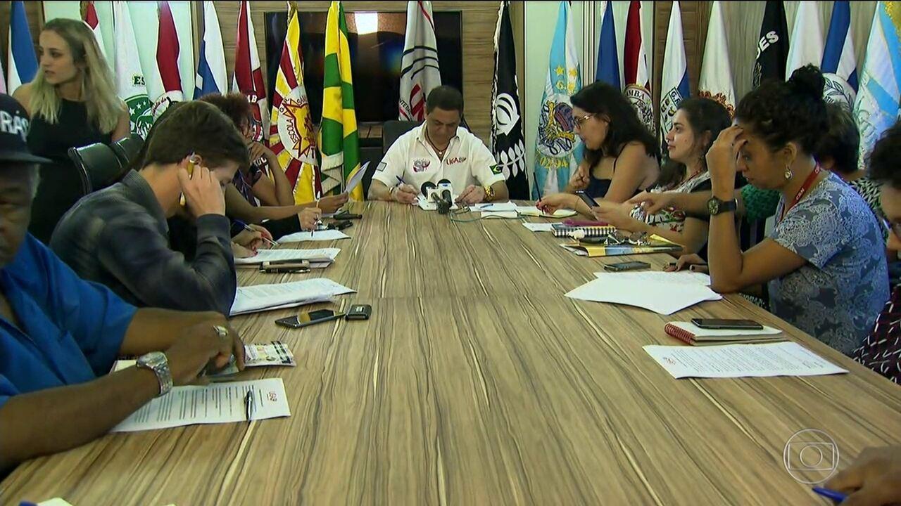 Liga das Escolas de Samba de SP muda os jurados para o Carnaval 2017