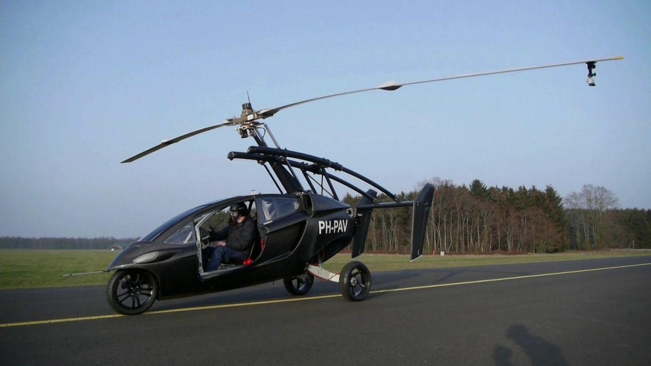 Holandeses criam carro voador PAL-V, que começa a ser vendido em 2018