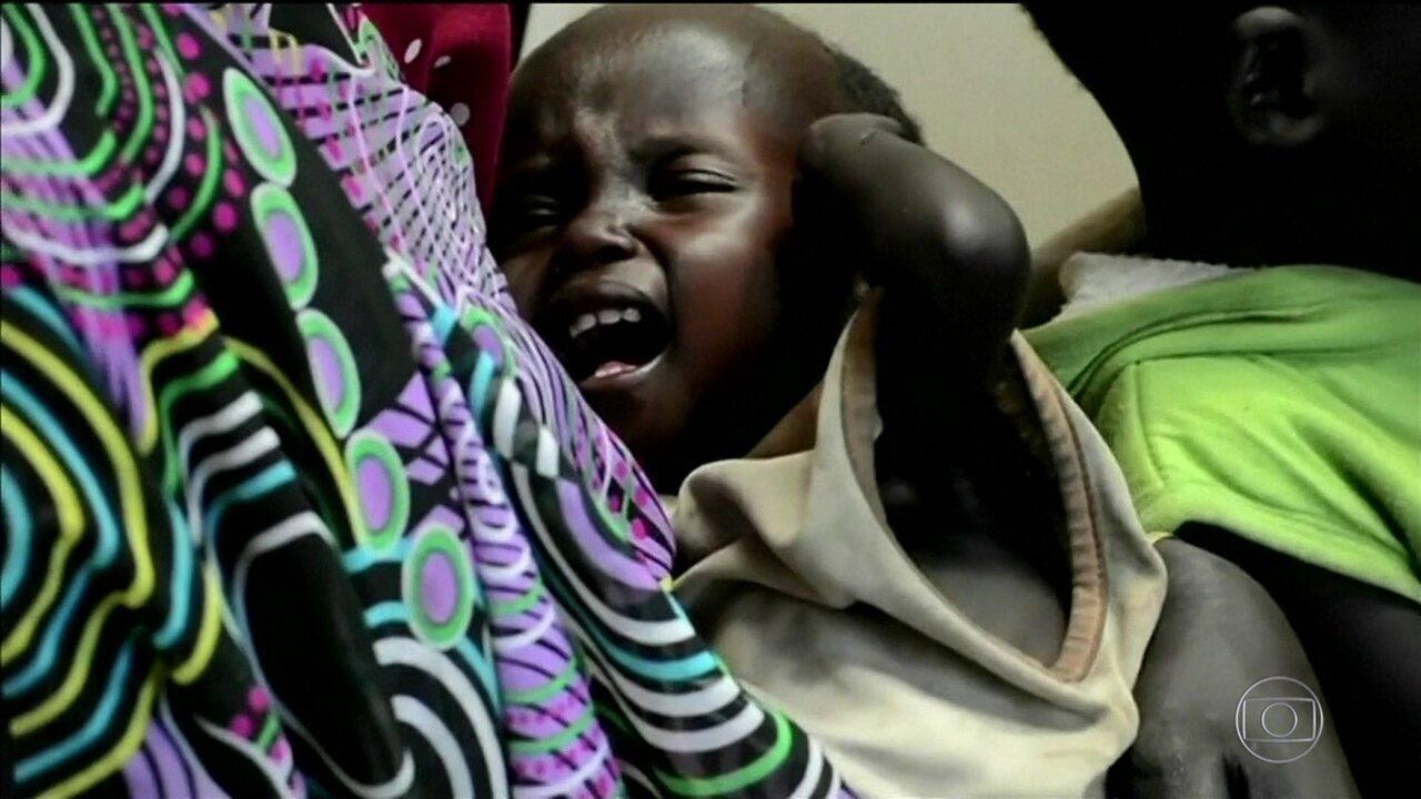 Fome deixa Sudão do Sul perto da catástrofe humanitária, diz ONU
