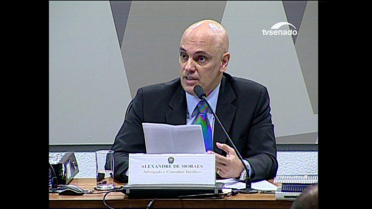 Alexandre de Moraes fala sobre a questão da celeridade processual