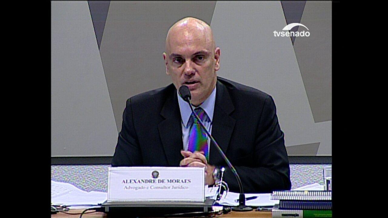 Moraes diz que colaborações premiadas estão sendo feitas de maneira eficaz