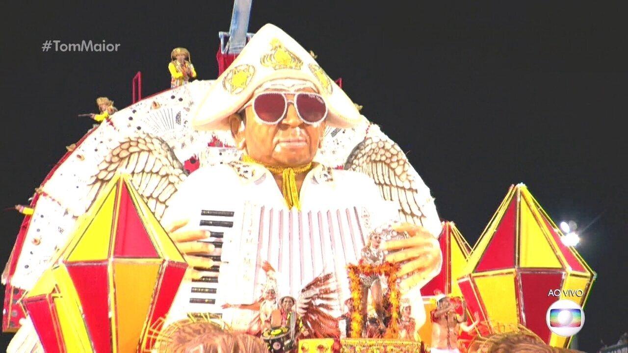 Abre-alas da Tom Maior traz homenagem a Gonzagão