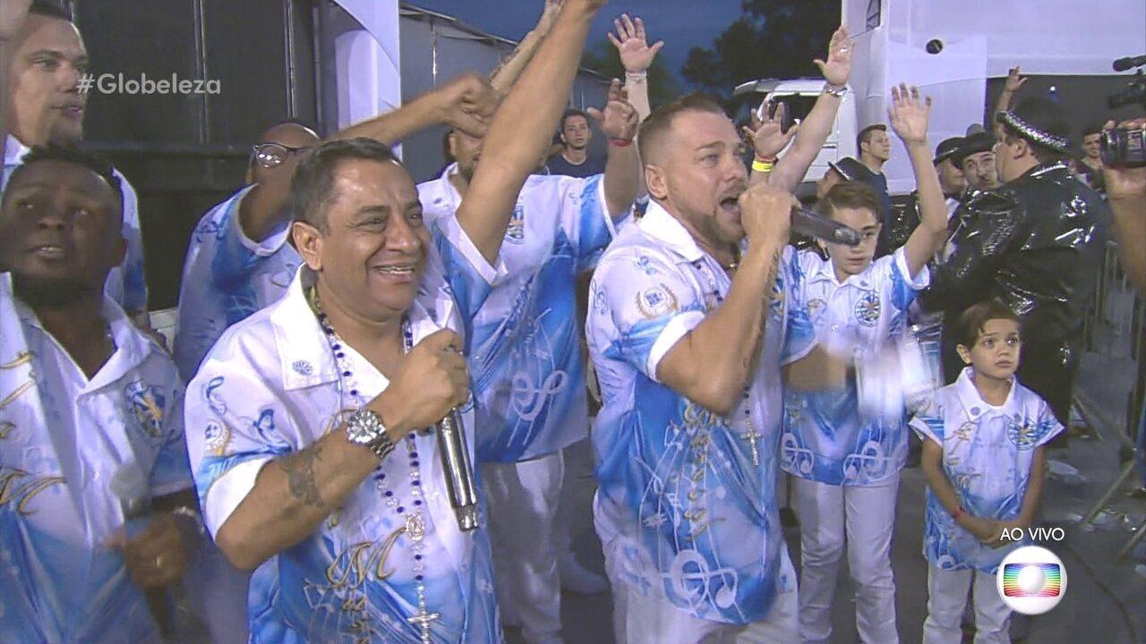 Douglinhas Aguiar e Fernandinho SP puxam o samba da Águia de Ouro