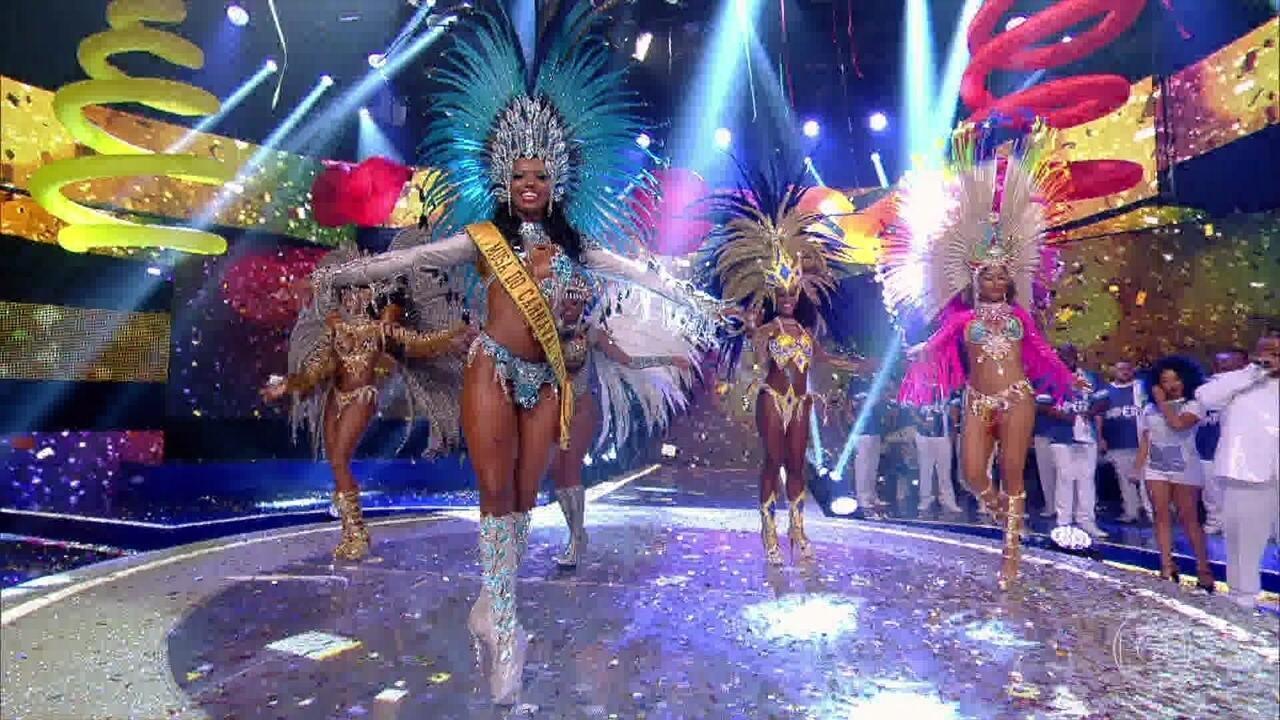 Passista da Portela é a grande vencedora do concurso 'Musa do Carnaval 2017'