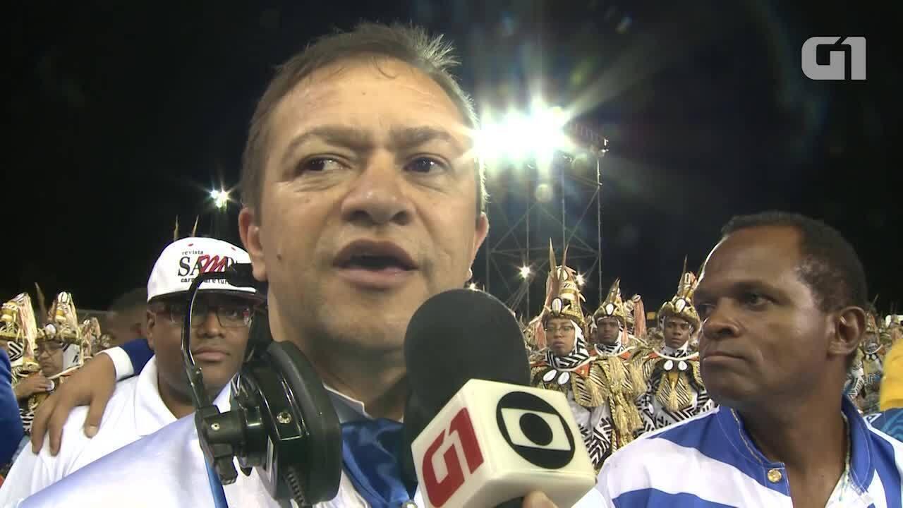 Presidente da Nenê aceita iniciar desfile mas ressalta que pista segue inadequada