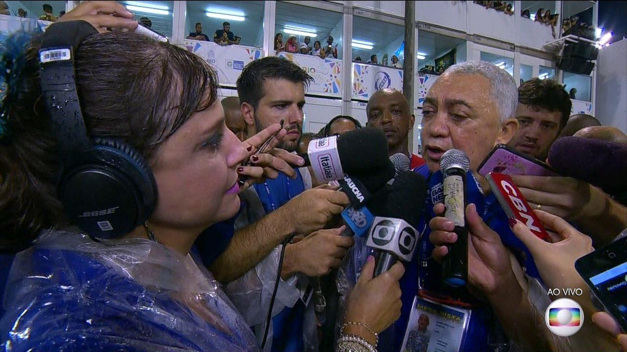 Diretor de carnaval da Liesa comenta acidente na Sapucaí