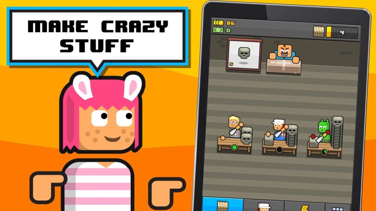 'Make More!' é jogo de celulares onde objetivo é aumentar fábricas e ganhar mais dinheiro