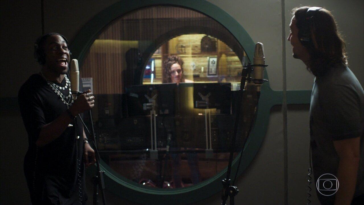 Mister Brau grava música com Gui