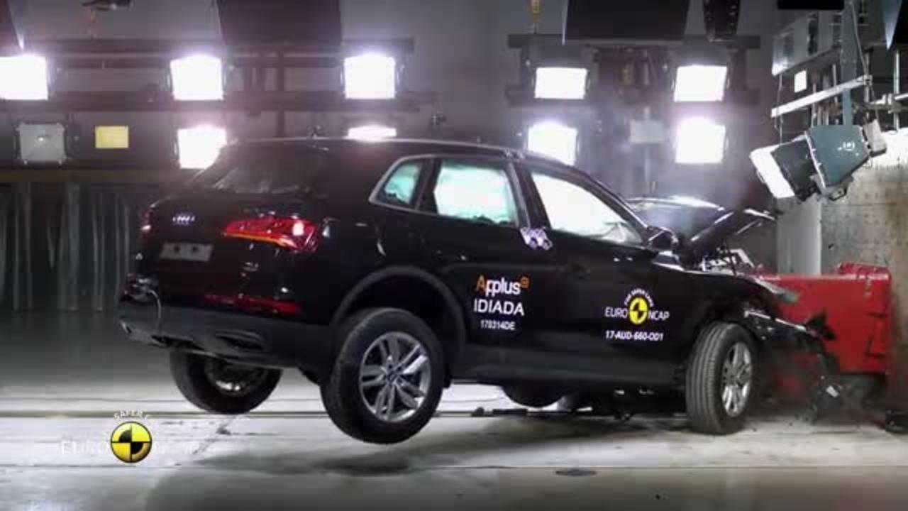 Novo Audi Q5 recebe 5 estrelas em teste de colisão na Europa