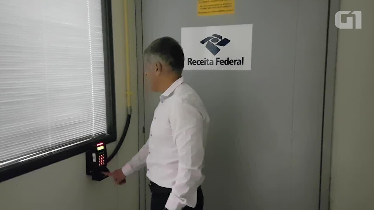 G1 visita o computador da Receita Federal responsável pela malha fina