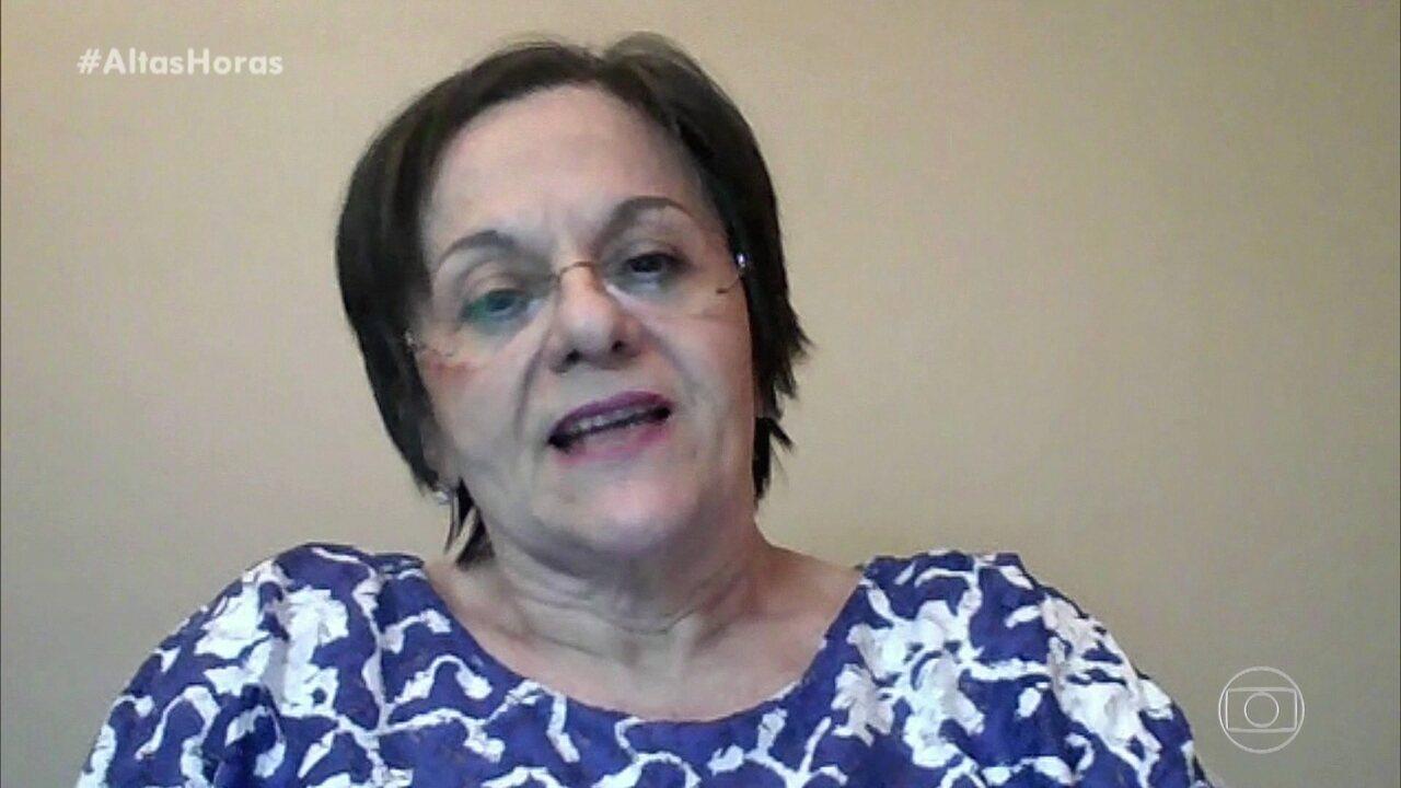 Maria da Penha conta sua história e fala sobre violência doméstica