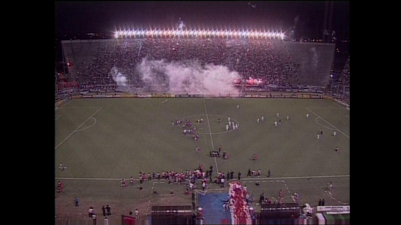 Relembre a final da Mercosul de 2001 entre Flamengo e San Lorenzo