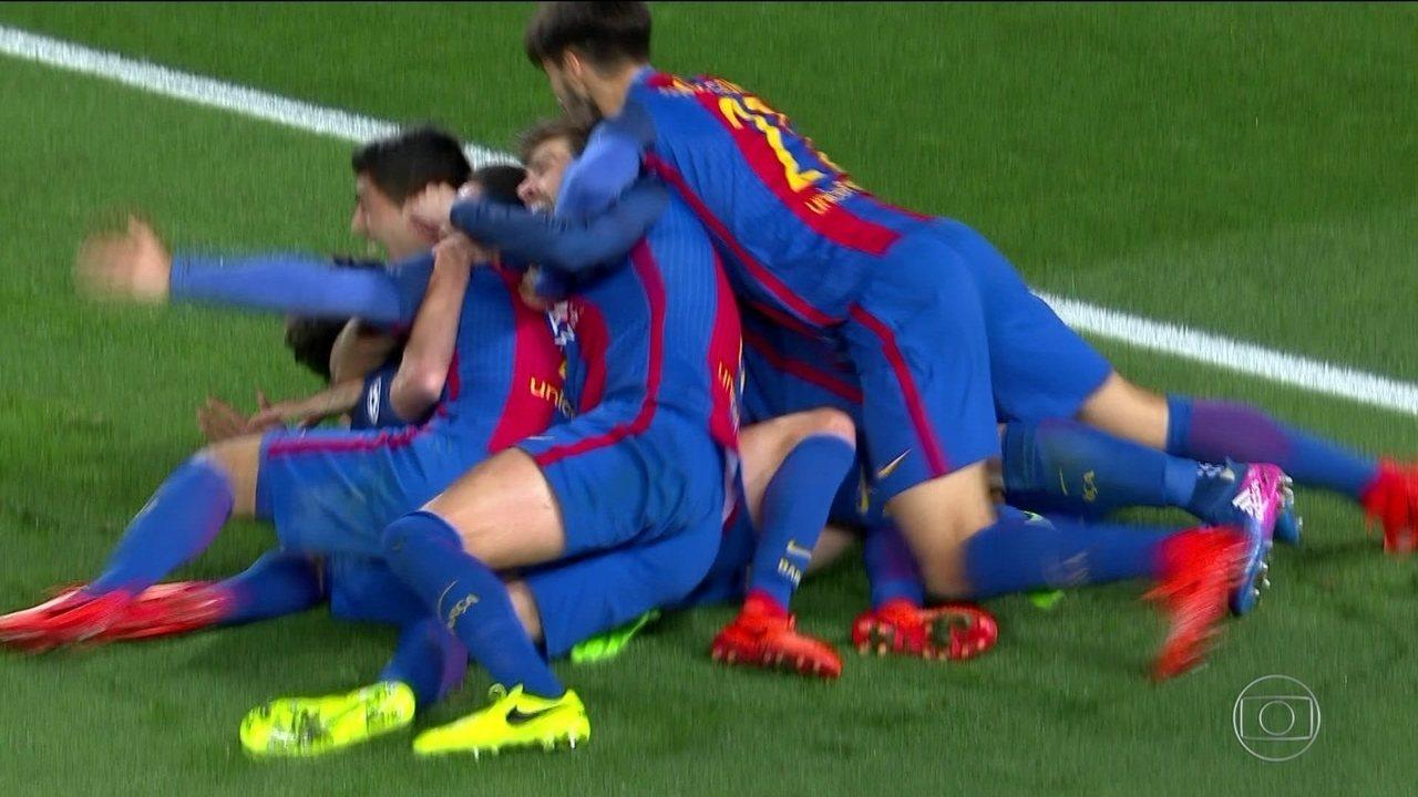 Os gols de Barcelona 6 x 1 PSG pelas oitavas de final da Liga dos Campeões