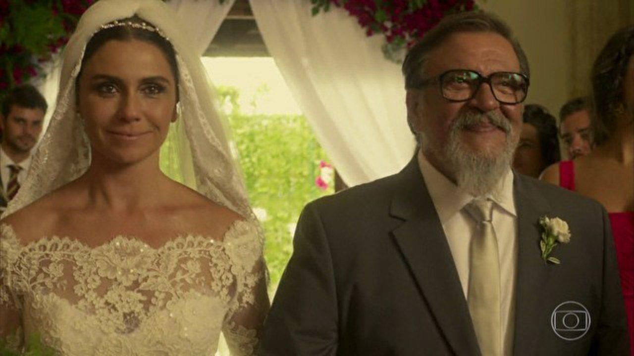 Sol Nascente - Capítulo de sexta-feira, dia 10/03/2017, na íntegra - Chega o dia do casamento de Mario e Alice
