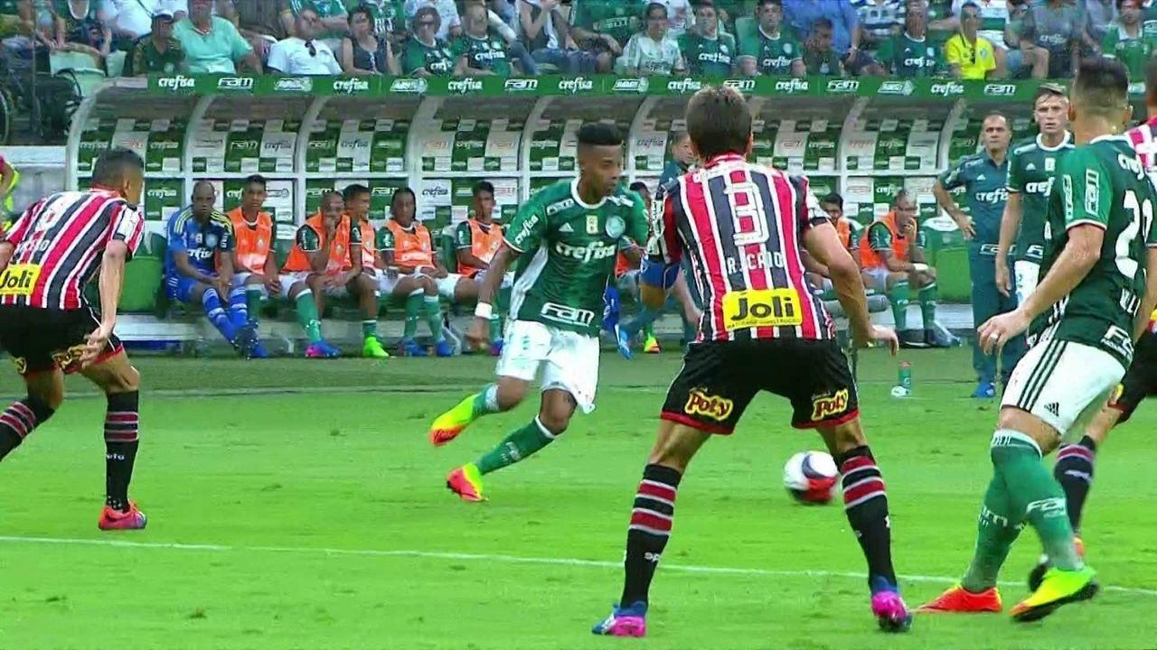 Melhores momentos de Palmeiras 3 x 0 São Paulo pela 8ª rodada do Campeonato Paulista