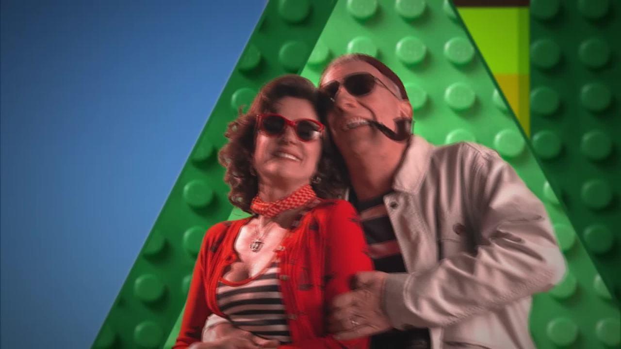Lineu Silva define seus familiares no 'O Álbum da Grande Família'